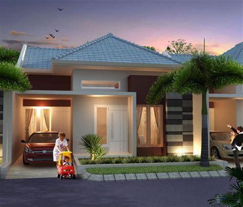 model gambar rumah minimalis type  modern