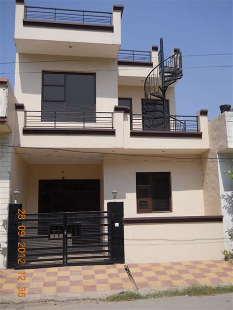 80 yard home design 3 bhk individual house home for rent at zirakpur