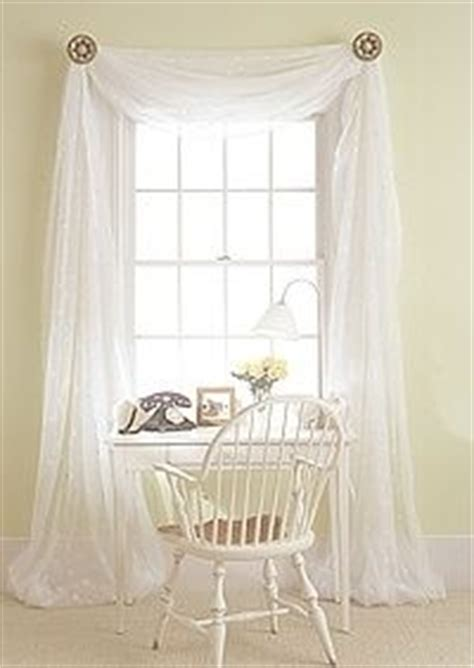 how to drape voile over a curtain pole 1000 images about curtains on pinterest drapes