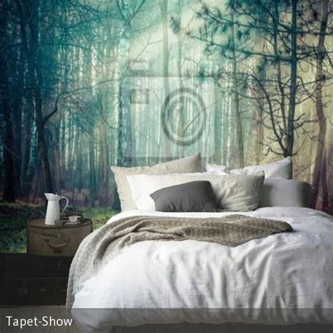 schlafzimmer wald fototapete wald im schlafzimmer wohnen deko