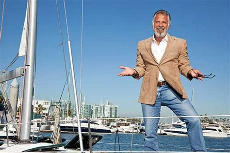 boatus marina del rey meet the most interesting man in the world boatus magazine