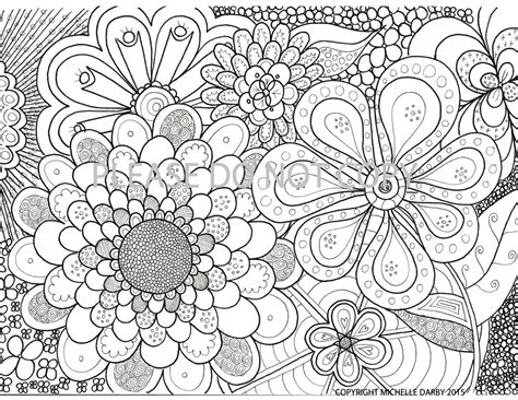 mandala coloring pages zen flower power zen mandala colouring page
