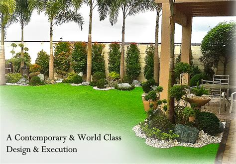 Home Garden Design In The Philippines Green World Builders Inc Philippines Landscaping
