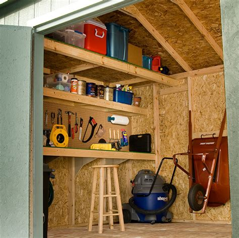 Shed Storage Organization Ideas by 10 Ways To Turn Your Shed Into The Workshop