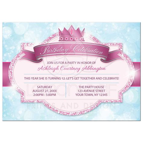 slumber party invitations princess party invitationsprincess