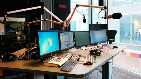 Radio Studio Desk by Gear Facilities Australian Television And Radio