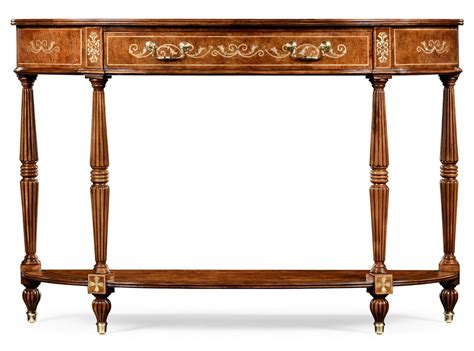 high end accent tables high end demilune console table 599207