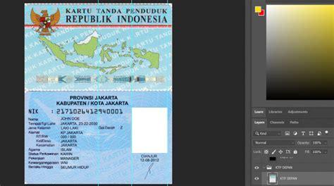 bacaritocom file psd photoshop blanko template ktp