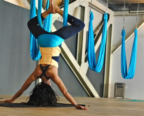 yoga swing installation learn the benefits of antigravity yoga