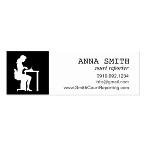 Court Reporting Business Card Templates Court Reporters Business Cards Templates Zazzle