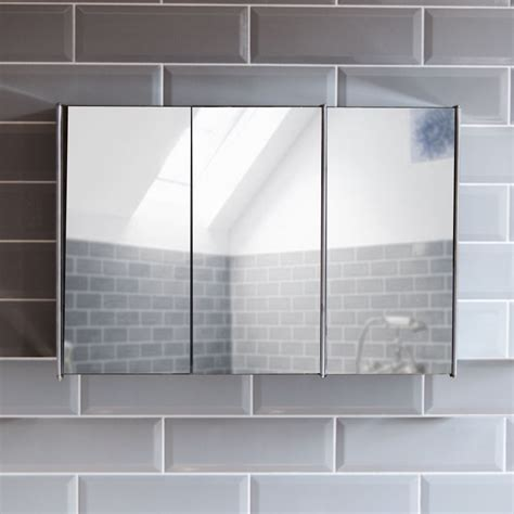 bathroom cabinet double triple door wall mounted mirror bathroom cabinet double triple door wall mounted mirror