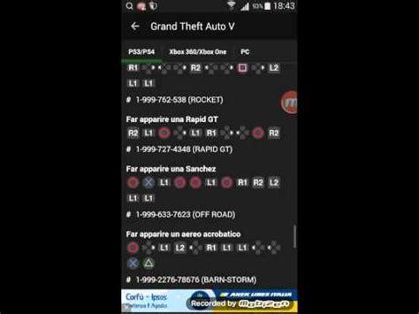 trucchi di gta 5 e gta 4 per ps3 youtube