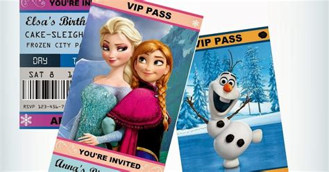 printable frozen movie ticket invitations jennuine by rook no 17 movie ticket style frozen party