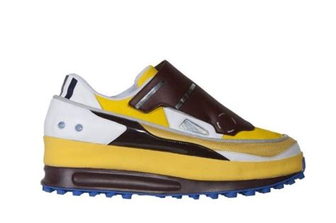 Raf Simons On My Shoes I Will Never Lose by Raf Simons Futuristic Adidas Sneakers Ny Daily News
