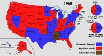 electoral map of the united states bestand 1960 electoral map png