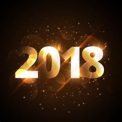new year 2018 dc creative shiny happy new year 2018 golden background with