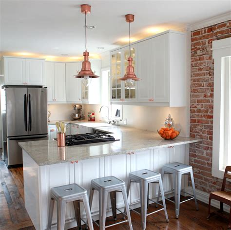 ikea kitchen lighting ideas copper barn light ikea hack
