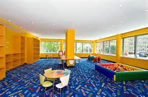 modern residential play room interior design azure