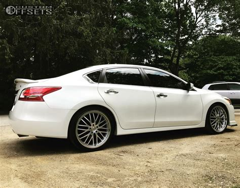 nissan maxima lowering springs wheel offset 2013 nissan maxima flush lowering springs