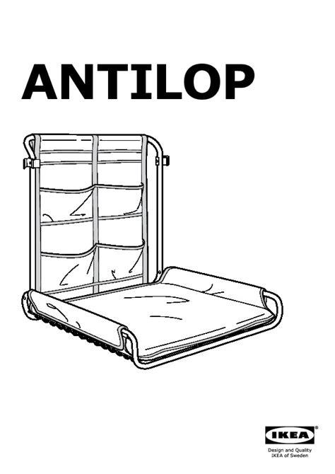 Ikea Antilop antilop wall changing table white ikea united kingdom ikeapedia