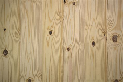 "Unfinished Knotty Southern Yellow Pine 3/4""   PC Hardwood"