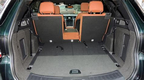 land rover discovery sport trunk space land rover s discovery sport big on space off road