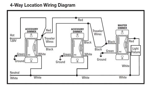 lutron maestro 4 way dimmer wiring diagram 42 wiring