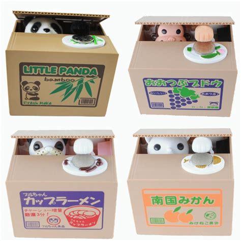 Celengan Pencuri Koin Pengambil Edukasi Anak Menabung Karakter Itazura celengan kucing monyet panda lucu mainan edukasi anak