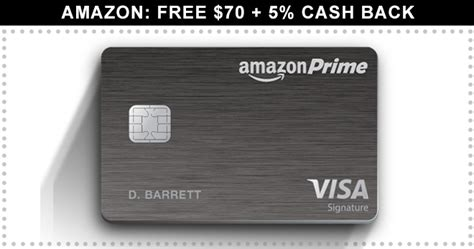 Amazon 70 Gift Card - amazon credit card free 70 5 back