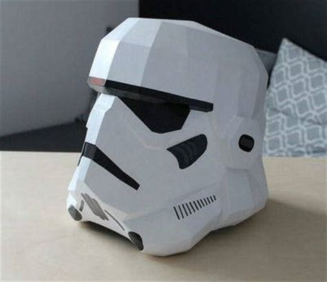 Stormtrooper Papercraft Helmet - wars wearable stormtrooper helmet v2 for