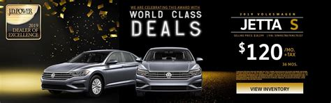 monthly specials bill jacobs volkswagen