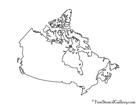 Map Of Scotia Outline by Canada Stencil Free Stencil Gallery