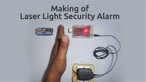 burglar alarm using laser pointer ftempo