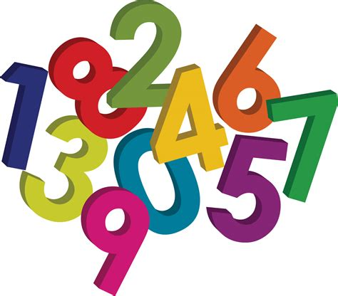 numbers clipart sneak peek maths graphics maths matters resources
