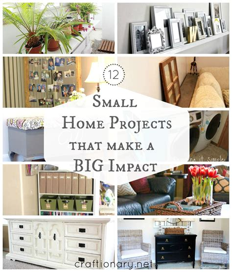 diy projects house 12 diy small home projects big impact home home