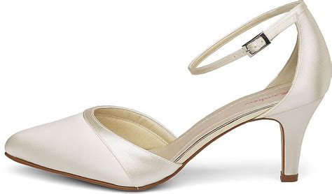 Brautschuhe Creme Wei by Rainbow Club Brautpumps In Wei 223 Creme