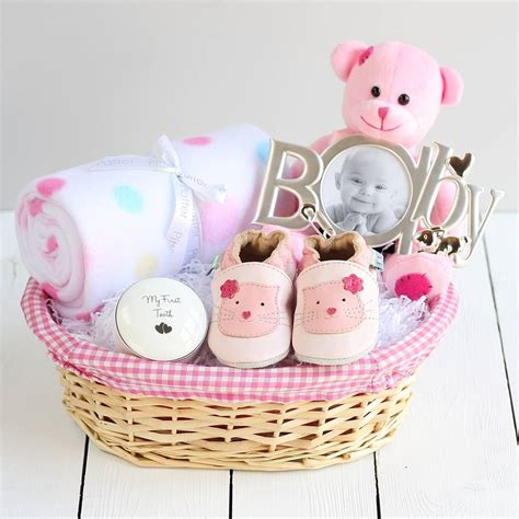 Baby Shower Gift by Deluxe New Baby Gift Basket By Snuggle