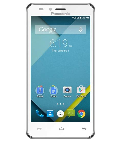 24% OFF on Panasonic T45 4G (8GB, White) on Snapdeal