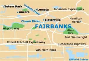 Fairbanks Alaska Map by Fairbanks Maps And Orientation Fairbanks Alaska Ak Usa