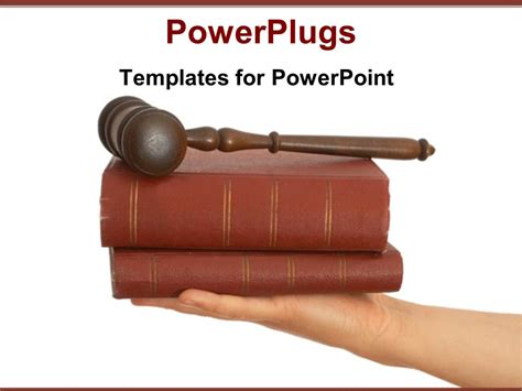 templates for powerpoint law powerpoint template legal theme with judges gavel on top