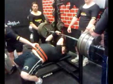 board bench press shawn bench press 585 lbs 4 board 3 reps youtube