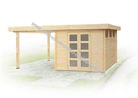 abri de jardin bricomarché 2225 chalet de jardin 224 toit plat avec abri en madriers de 28 mm
