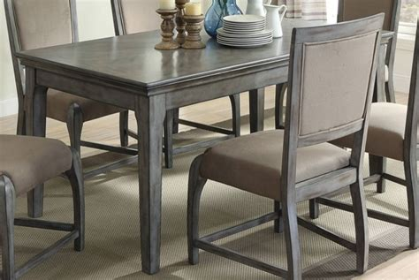 gray rectangle dining table acme furniture freira antique gray rectangle dining table