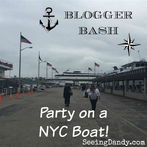 the boat nyc nyc party on a boat and giveaway seeing dandy
