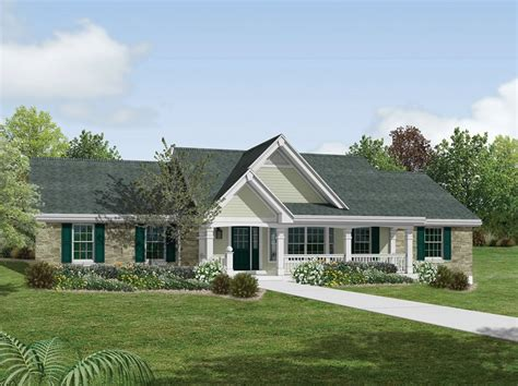 5 Bedroom 3 Bath Country House Plan Alp 09he Simple House Plan Roofline