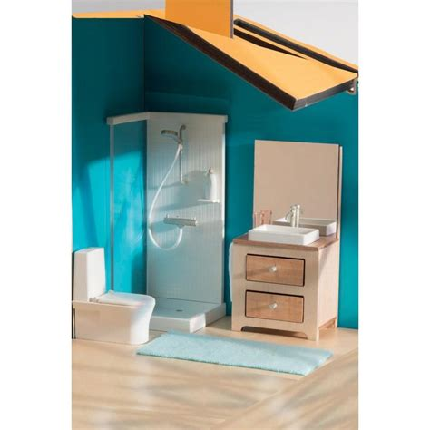 Modern Age Furniture djeco doll house furniture bathroom milk tooth