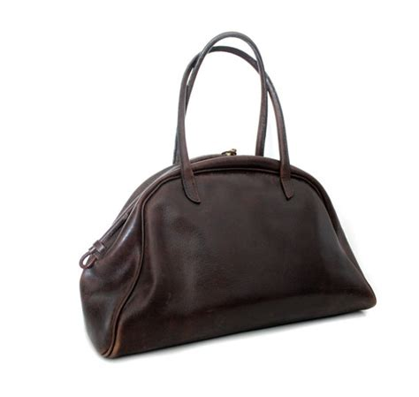 Henry Cuir Chateau Bag by Henry Cuir Doctor Bag Leather Bag