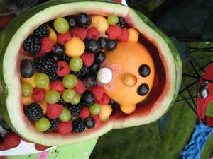 Watermelon Crib For Baby Shower Baby Shower Food Ideas Design Dazzle