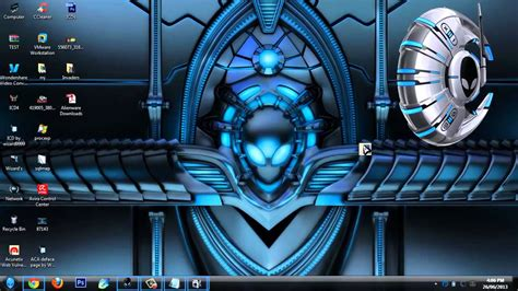 pc themes windows 7 ultimate awesome alienware theme for windows 7 ultimate pro