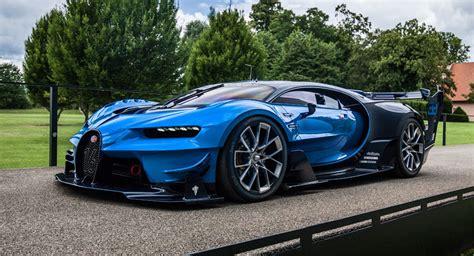 bugatti to showcase chiron alongside vision gt concept at